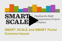 SMART SCALE: Common Issues